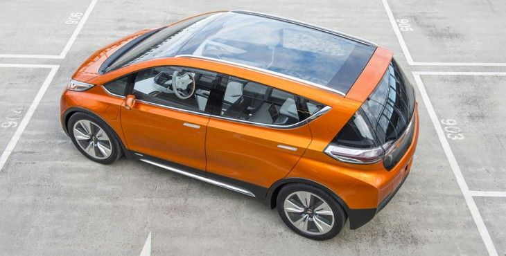 Chevrolet Bolt EV previews an affordable all-electric vehicle | automotive99.com