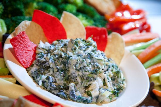 Sasaki Time: Super Bowl Sunday Recipes: Spinach and Artichoke Dip from the ESPN Zone