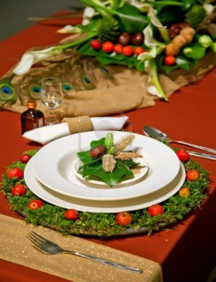 Christmas Table Docorations