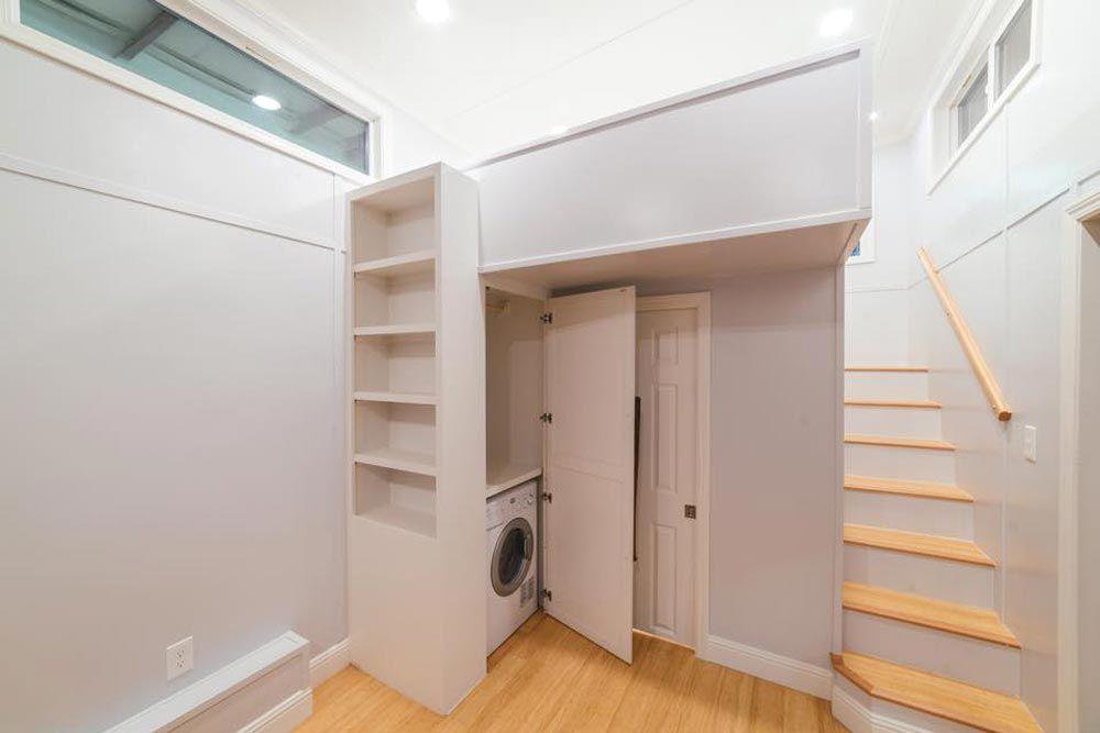 tiny house california. Bookcase \u0026 Closet - Custom Tiny By California House