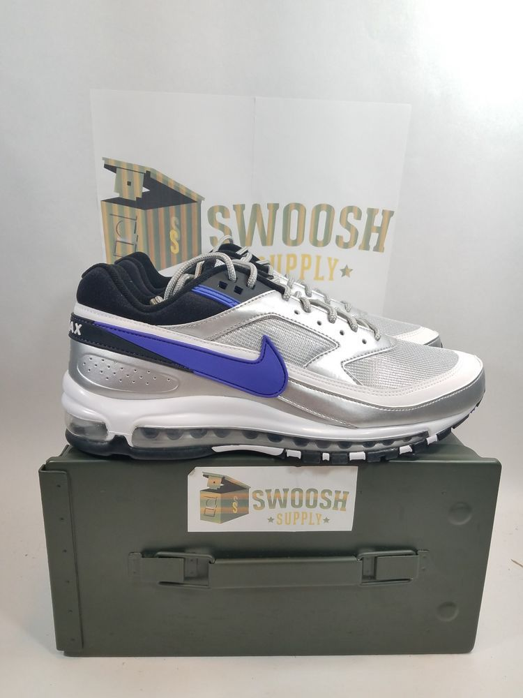 d8dbb29c542 Nike Air Max 97 BW Metallic Silver Persian Violet New Size 9.5 AO2406-002   Nike  RunningShoes