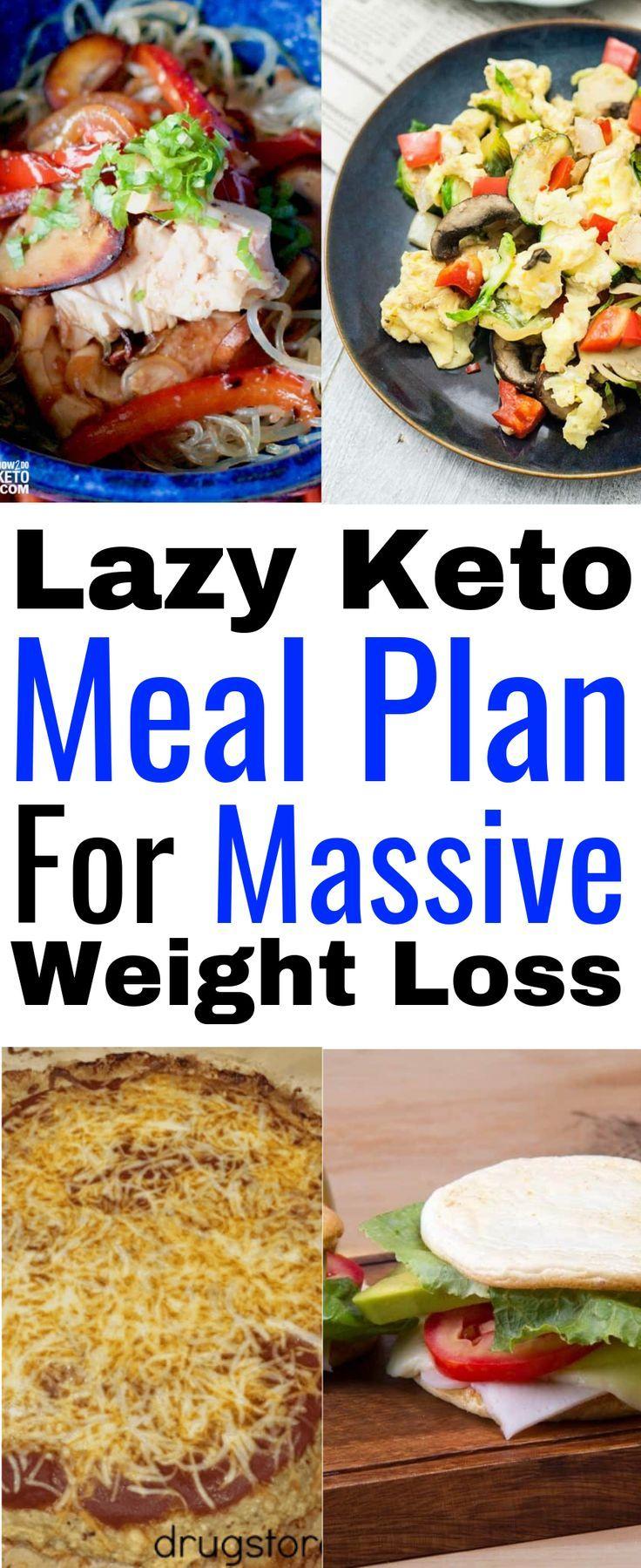 Lazy Keto-Speiseplan (30-tägiger Keto-Speiseplan mit Rezepten für Anfänger) - Diät Blog #ketomealplan