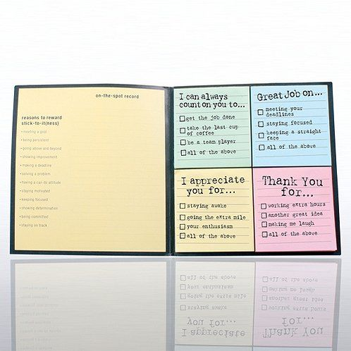 Attitude Edition Peel  Stick Recognition Note Set Work