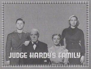 Judye Hardy's Family