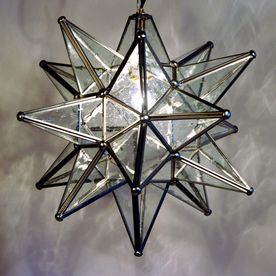 Shop quintana roo moravian star 10 in silver plug in single seeded shop quintana roo 9640 glass moravian star pendant at atg stores mozeypictures Choice Image