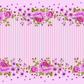 Trouve Sur La Page Http Freedesignfile Com 111818 Pink Roses Frame Background Vector Flower Frame Frame Background Rose Frame