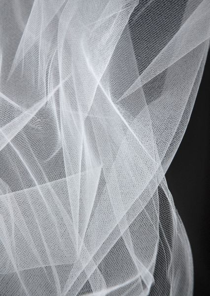 White Bridal Tulle Illusion 54 Wide 50 Yards For 29 59 Yard