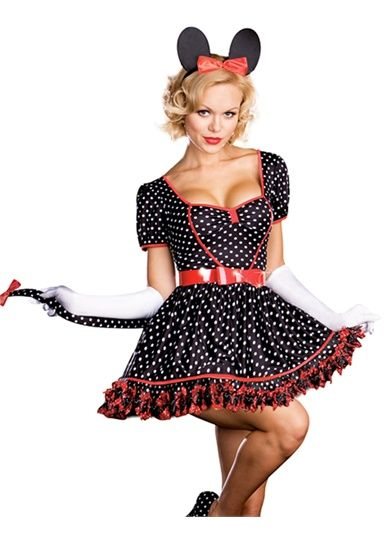Womens Disney Mickey Minnie Mouse Plus Size Halloween Costume  sc 1 st  Pinterest & Womens Disney Mickey Minnie Mouse Plus Size Halloween Costume | Sexy ...