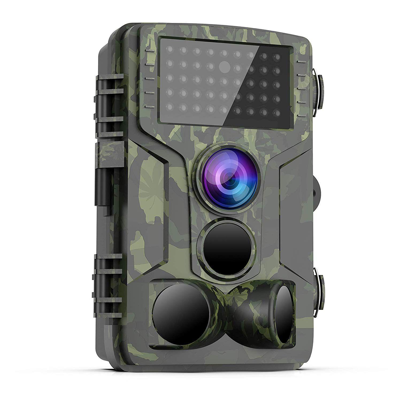 468f3057526cf Amazon.com: [Latest 2019] Trail Game Camera – 1080P FHD Waterproof ...
