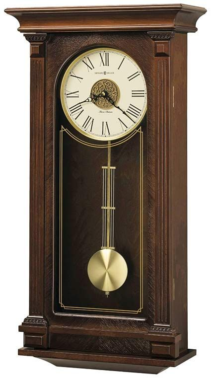 Howard Miller Sinclair 625 524 Chiming Wall Clock Chiming Wall Clocks Pendulum Wall Clock Mantel Clock