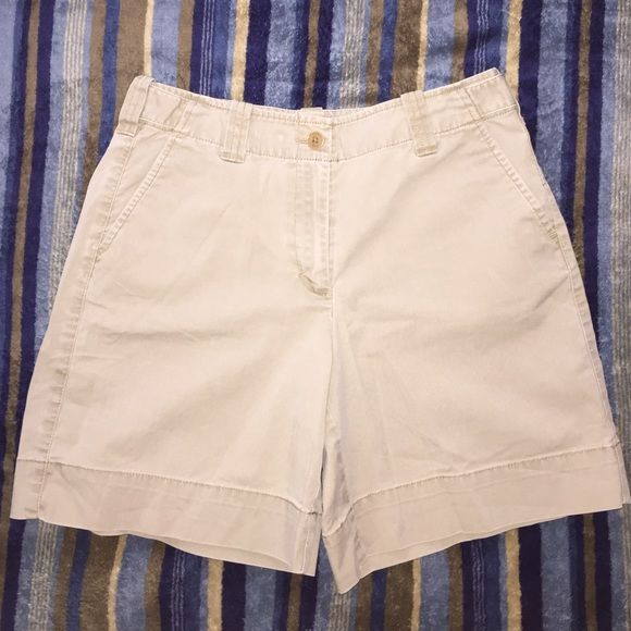 Selling this Khaki shorts in my Poshmark closet! My username is: 60hael. #shopmycloset #poshmark #fashion #shopping #style #forsale #Talbots #Pants