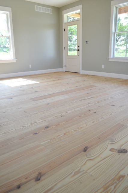 Charming How To Finish Yellow Pine Floors (without Poly