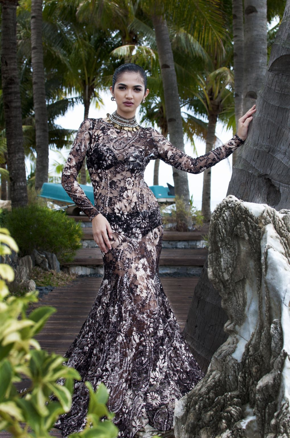 When fashion meets passion in puerto galera exotic wedding