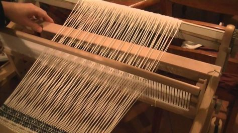 How To Insert Pick Up Sticks With A Rigid Heddle Loom