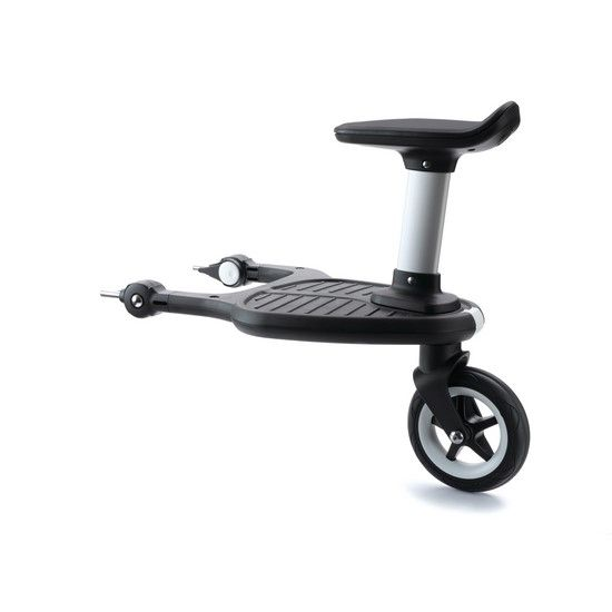 Black duo Ride On Board With Saddle Compatible With Bugaboo Donkey