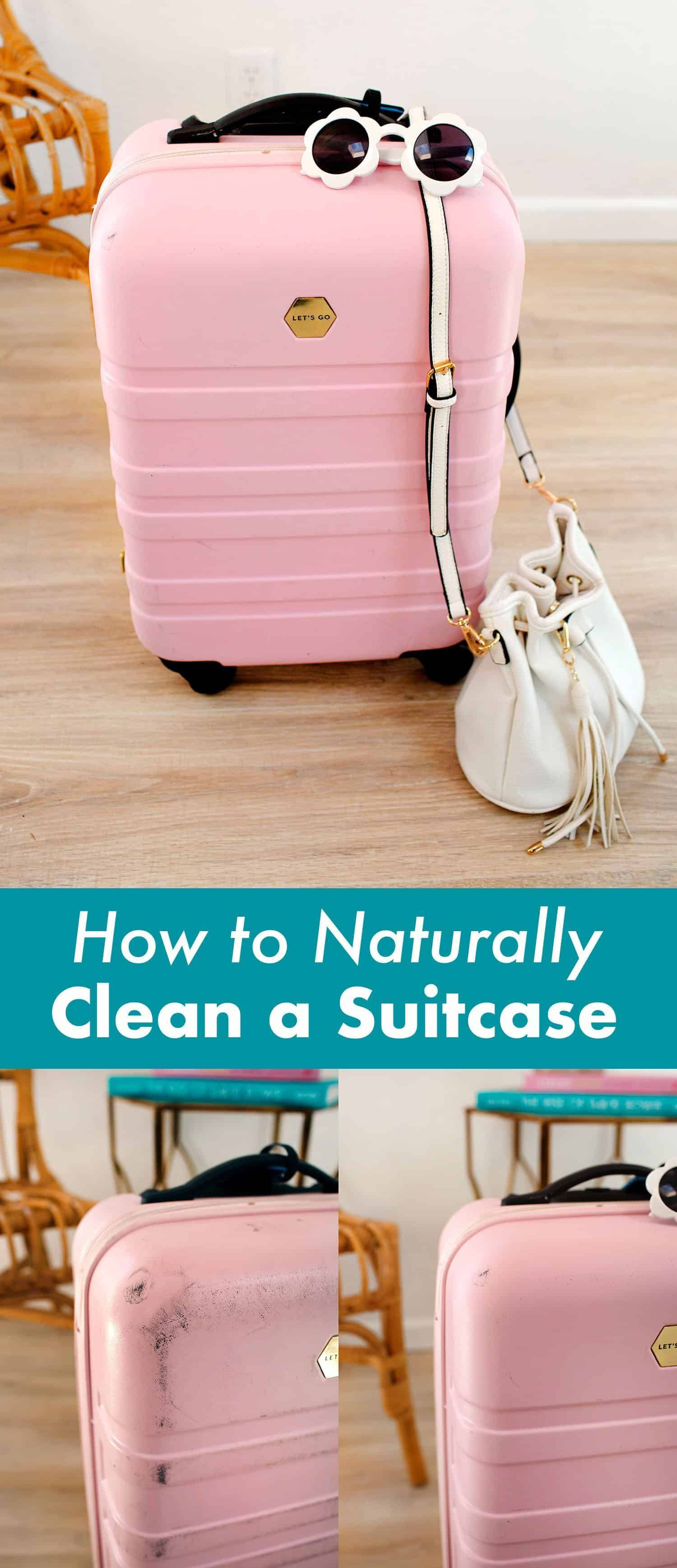 How To Naturally Clean A Suitcase  A Beautiful Mess