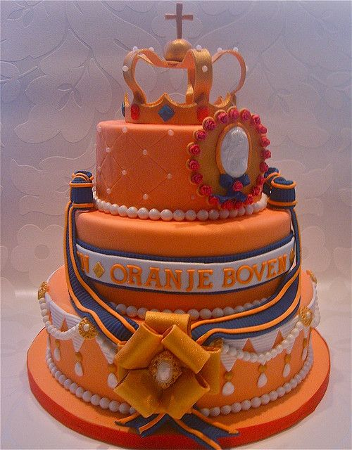 Cake Art Netherlands : Queensday by Cakes by Tessa, via Flickr Food - Art of ...