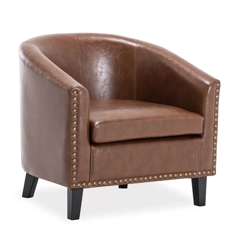 Alcott Hill Timmie Tub Barrel Chair & Reviews Wayfair in