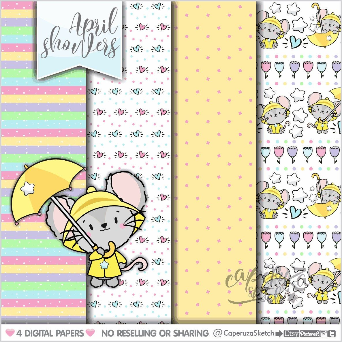 Mugs Digital Papers Animal Patterns Animal Digital Papers Deer Spring Digital Papers Spring Patterns Wolf Bear COMMERCIAL USE