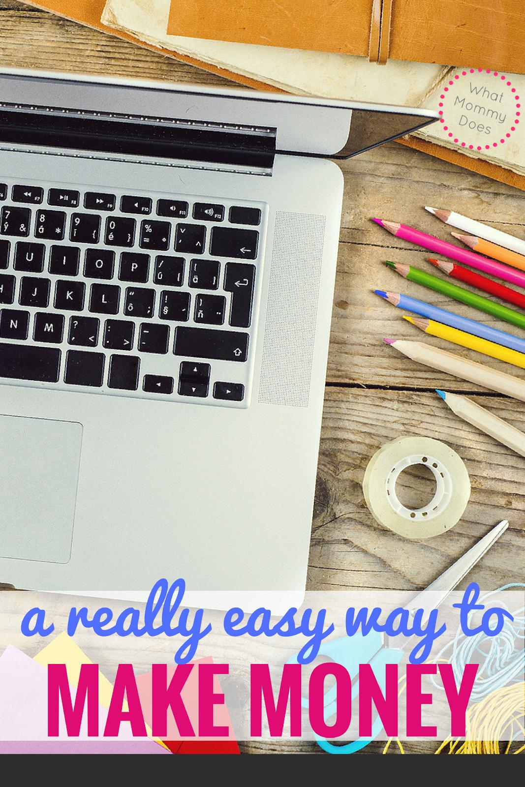 A Super Easy Way to Make Money Fast Online | Pinterest | Earn money ...