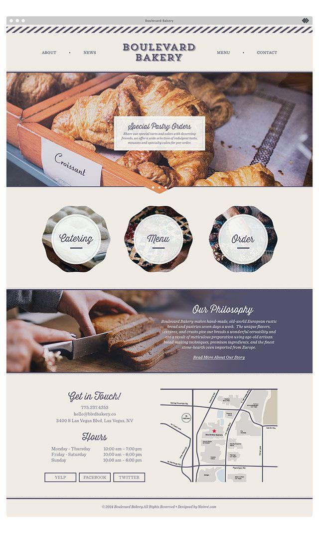 Inspired By Noirve Website Design Layout Food Web Design Web Design Examples