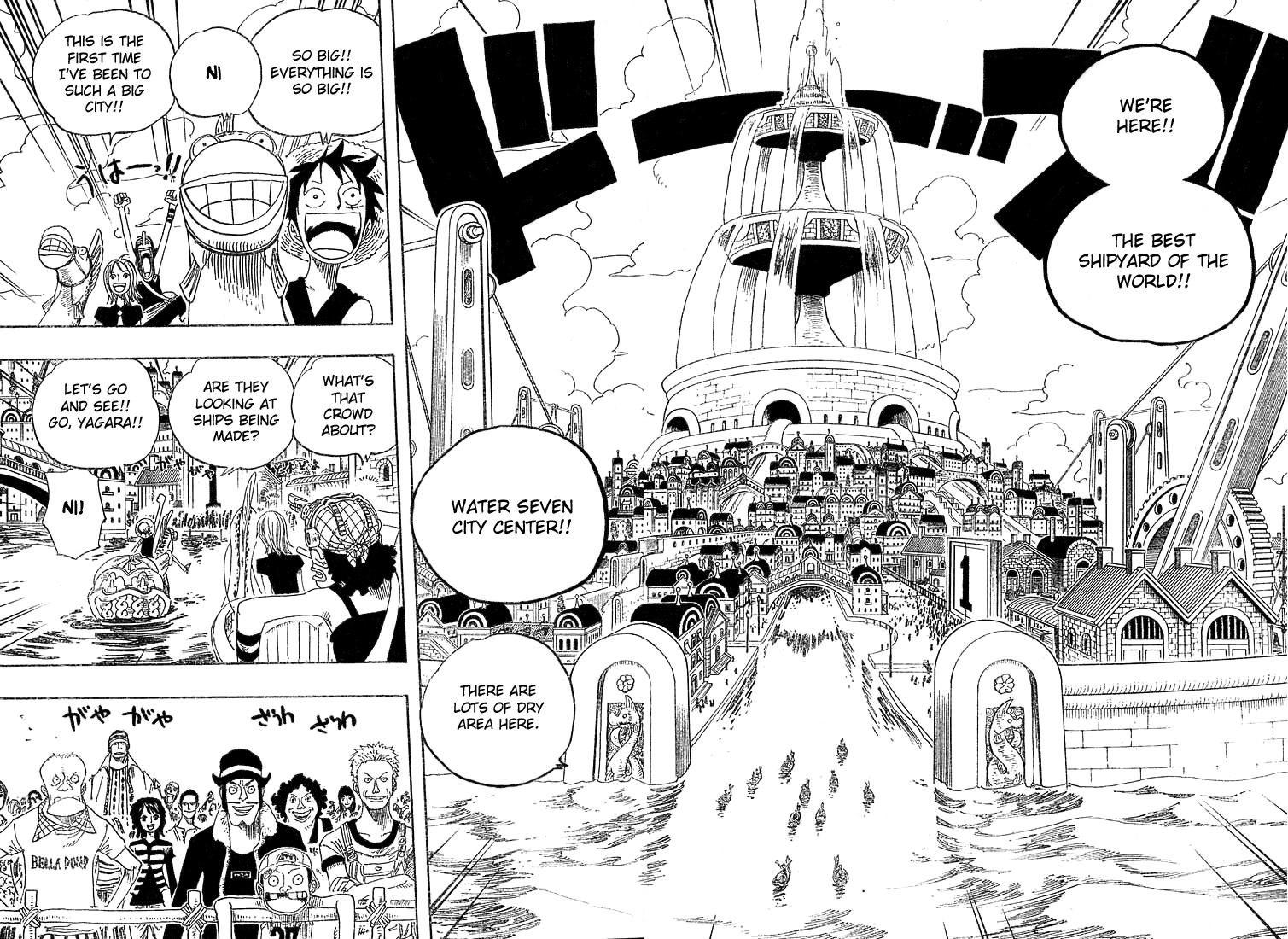 Water Seven One Piece Manga Ch 324 Page 16 One Piece Manga One Piece Chapter Manga