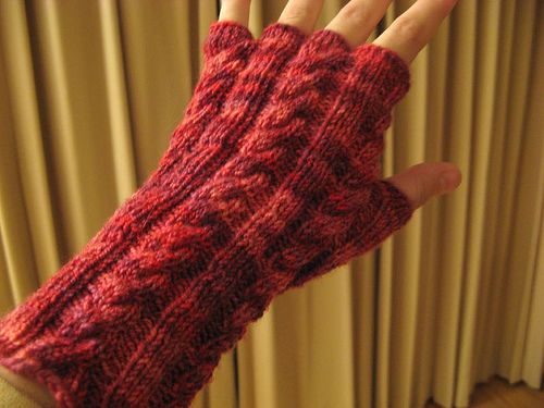 Almost Fingerless Gloves | Guantes