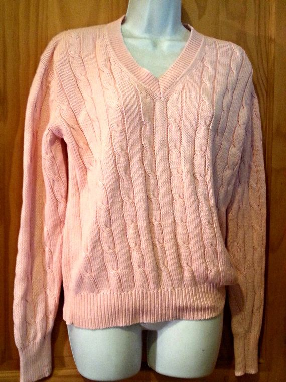 Vintage 80s Polo Ralph Lauren Pink Preppy by