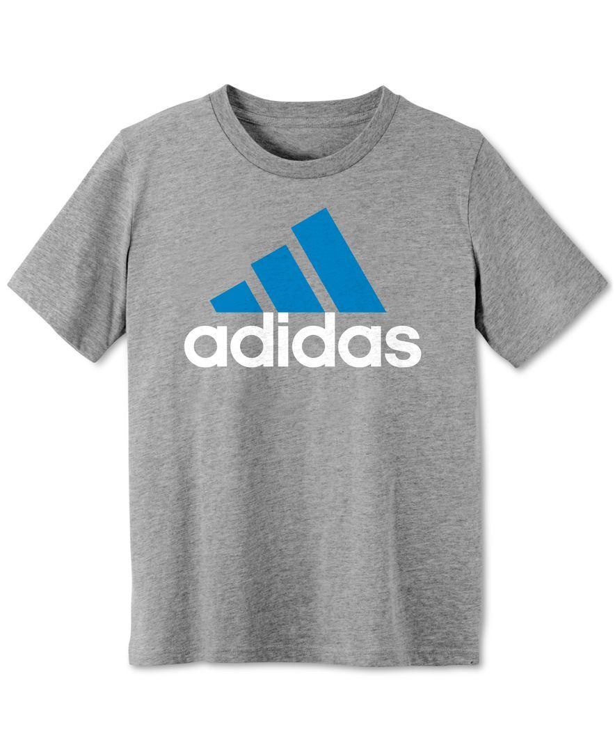 fd50ca44b adidas Boys' Logo T-Shirt | Adidas Kids | Graphic tees, Adidas ...