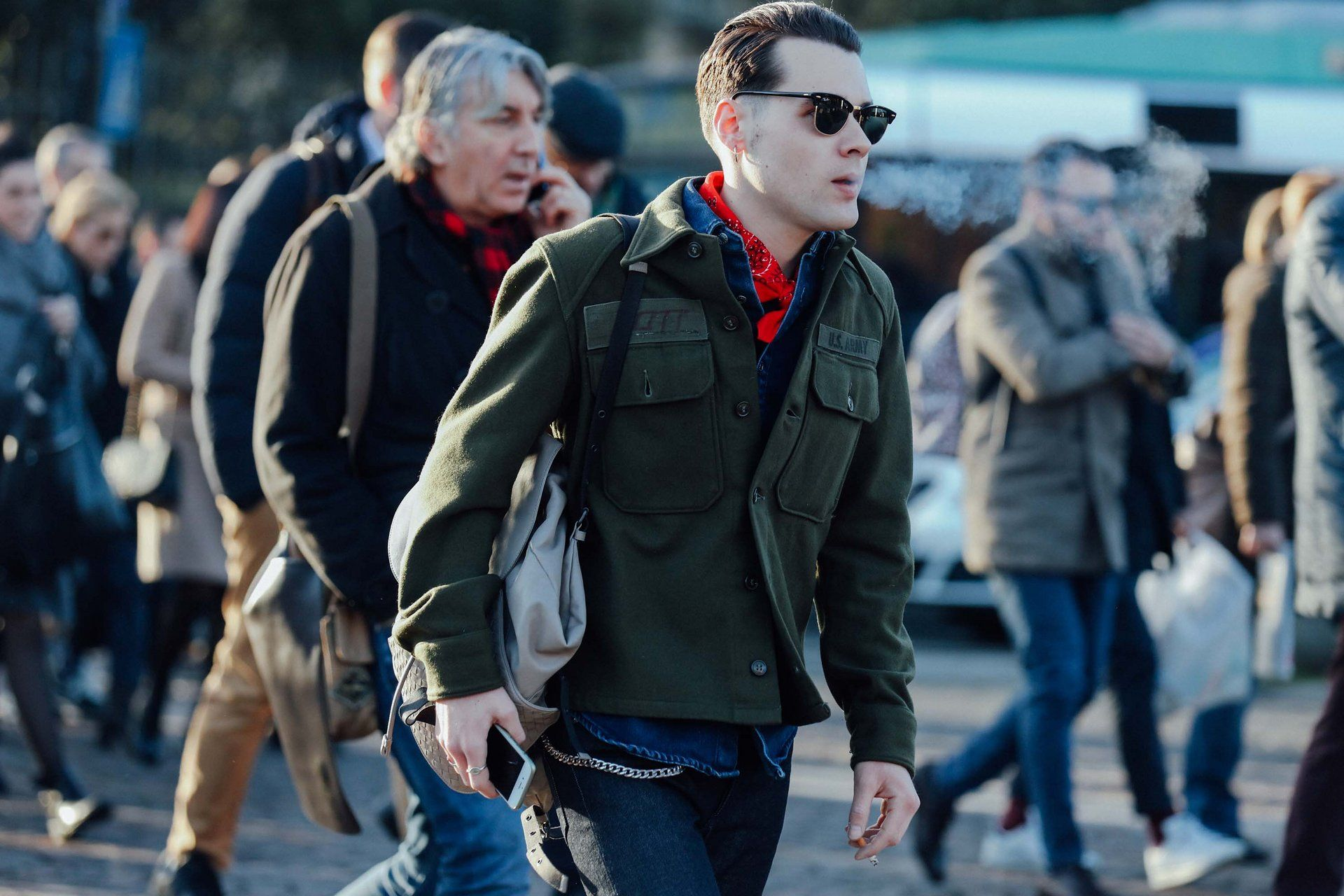 Vogue.com's Best Street Style Pics From the Fall 2016 Men's Shows - Vogue