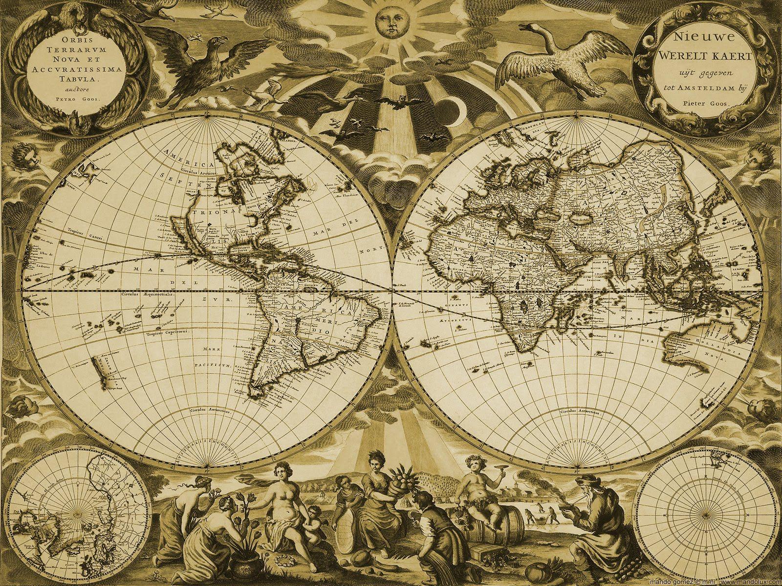 old world map desktop wallpaper treasure map wallpapers wallpapers