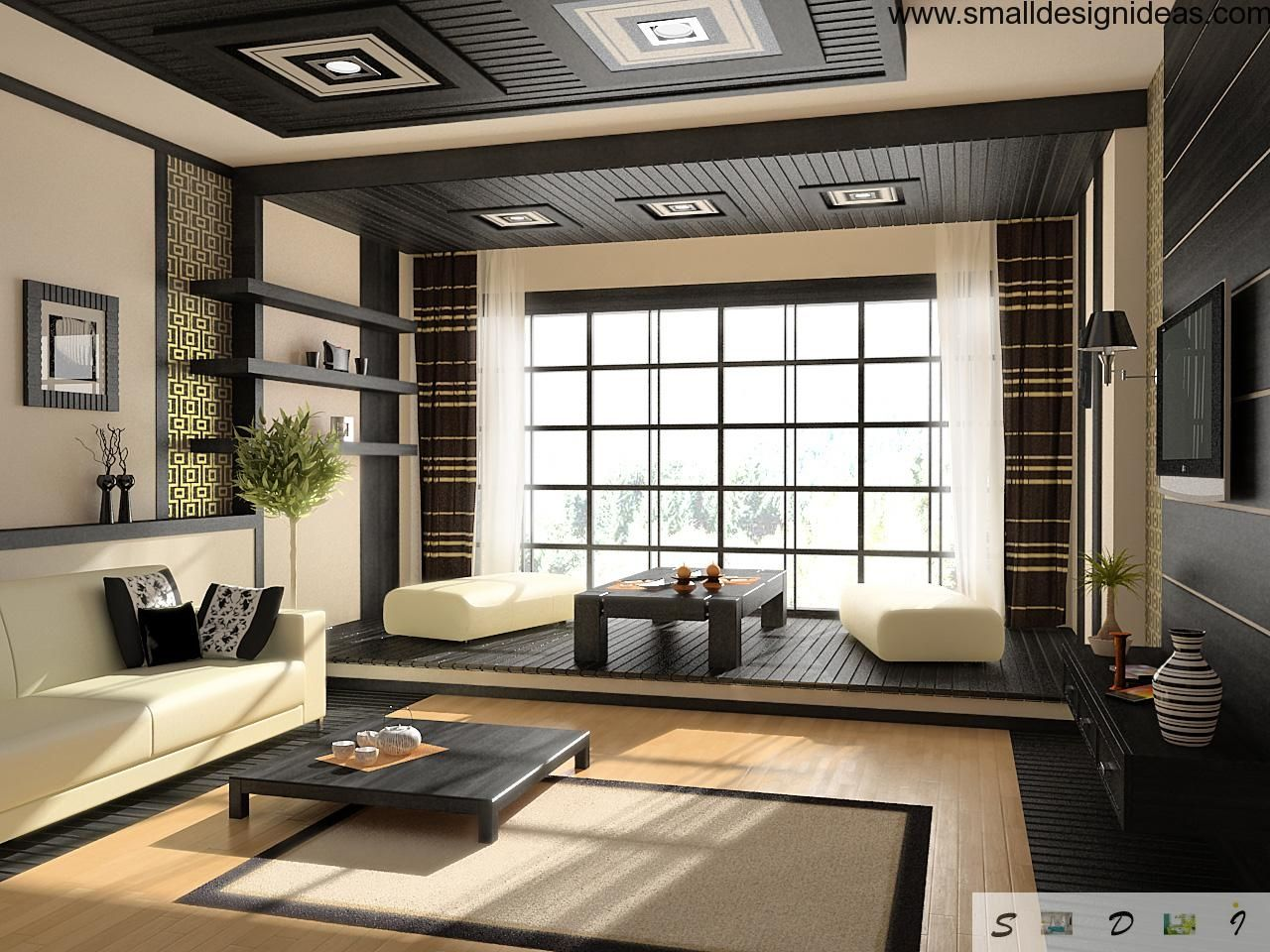 Japanese decor living room - 10 Things To Know Before Remodeling Your Interior Into Japanese Style