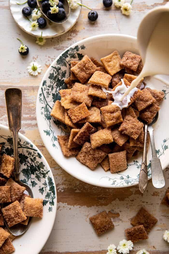 Homemade Cinnamon Toast Crunch. - Half Baked Harvest