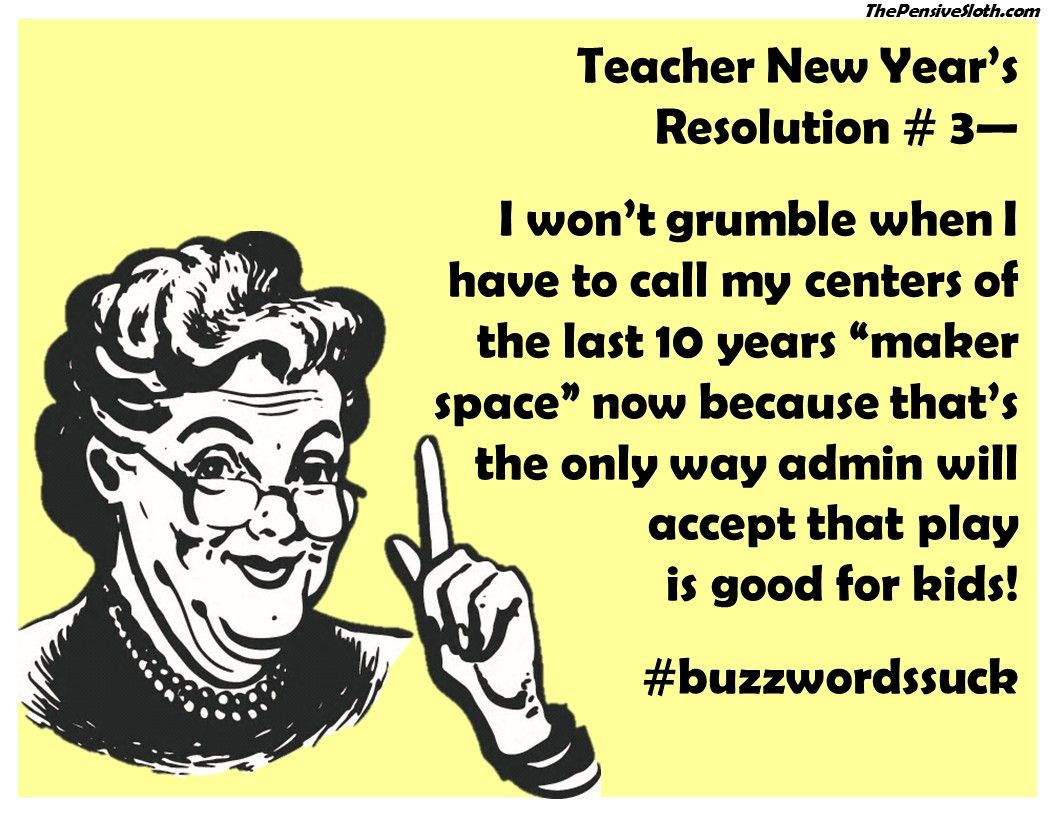 Teacher New Year's ResolutionsVersion 2017! (With images
