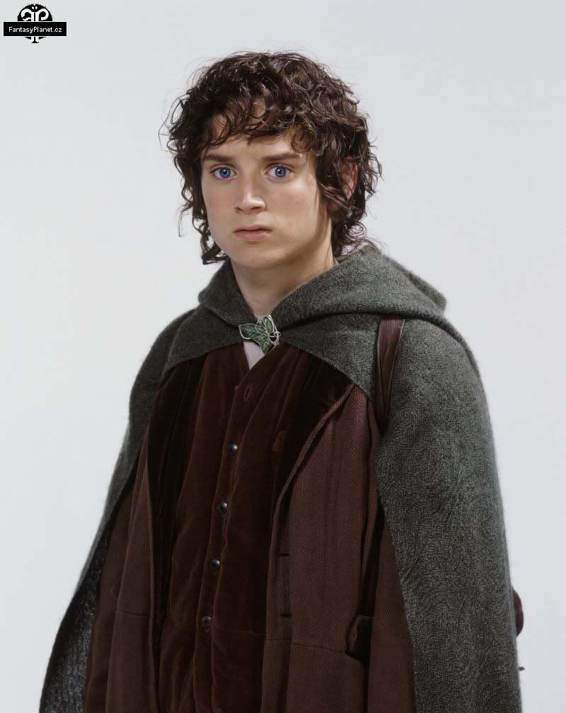 Elijah wood as frodo baggins a hobbit of the shire lord for Pics of frodo baggins