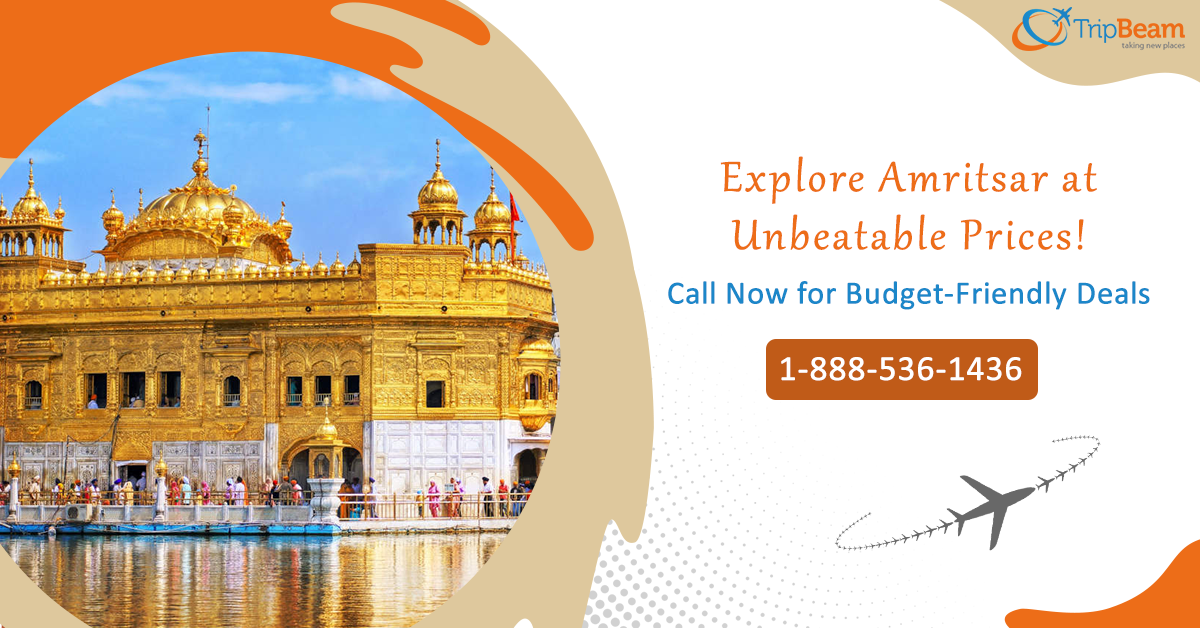 Looking for the best deals from Canada on cheap flights to Amritsar? If so, then connect with one of our Tripbeam experts and get perfect airfare rates open.  Contact us at: 1-888-536-1436 (Toll-Free), info@tripbeam.ca.  #India #Travellers #Vacations #Destinations #Tourists #ExploreIndia #TriptoIndia #canada #Explore #deals #wanderlust #travel #globe #lastbreath #tripbeam #traveldeals #offers #toronto #cheapflights
