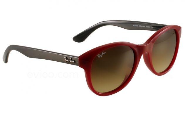 67c36a772c03d9 Les toutes nouvelles lunettes de soleil de chez  RayBan au look  Vintage .  Lunettes de Soleil Ray Ban RB 4203 604485 noir