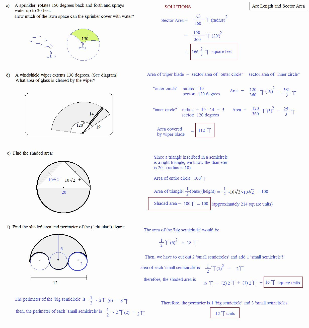 Unit Circle Worksheet With Answers Unique Degrees Radians