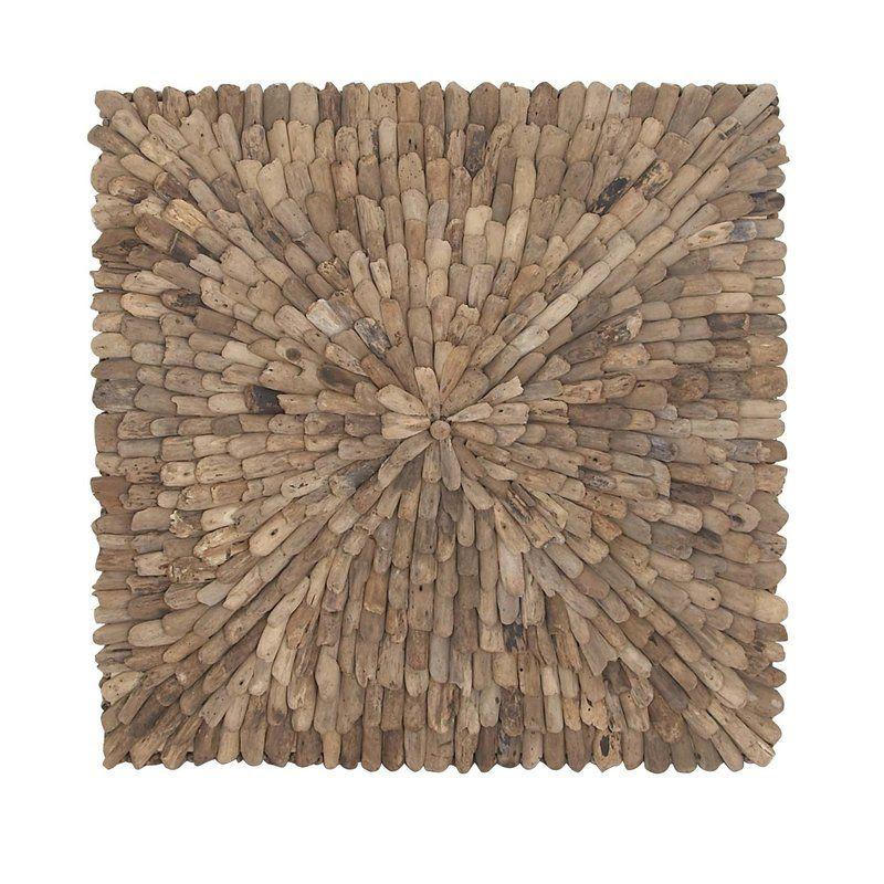 Natural Burst Style Square Driftwood Wall Décor Reviews Birch Lane Minimalist Decor Nautical Decor Minimalist Bedroom Design