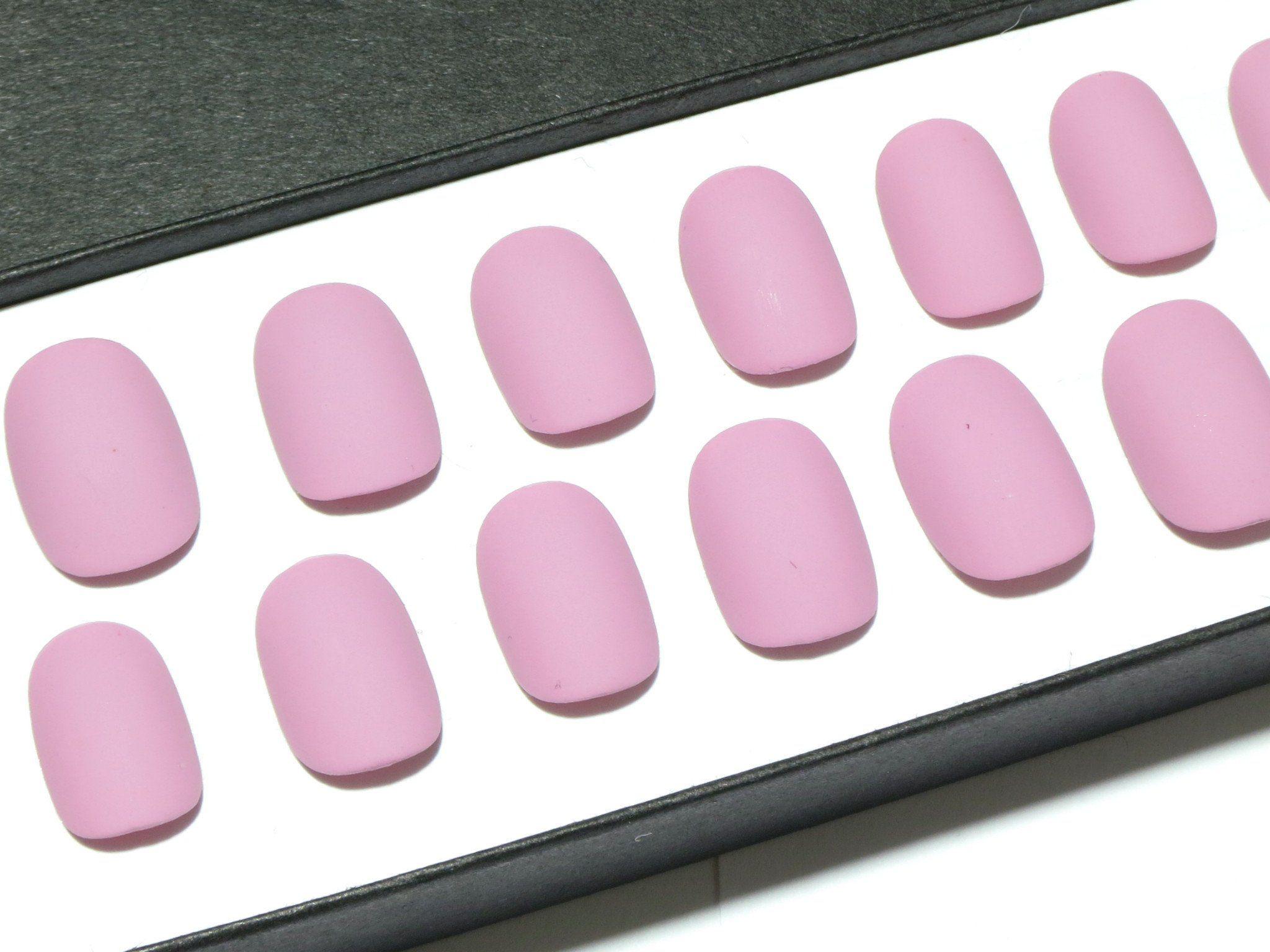Lilac Matte - Petite Sizes - - Sarah\'s Sparkles Nails - 3 | p ...