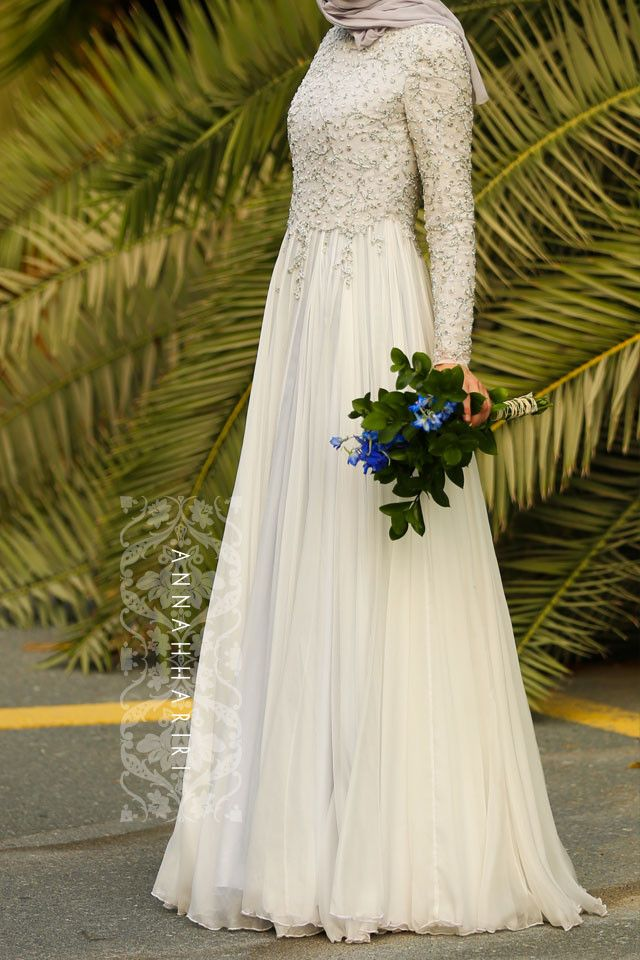 8805a2691d8ea Nabila Modest Dress in 2019 | Fashion | Wedding dresses, Muslimah ...