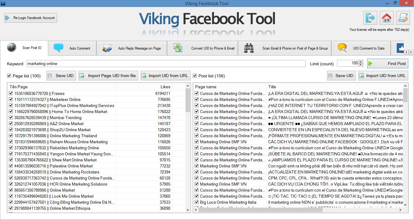Pin by Viking Software on Viking Facebook Tool   Vikings
