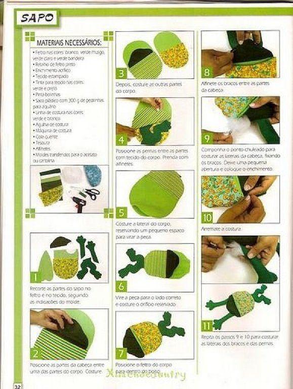 Quiero hacer manualidades de Ranas me ayudais Craft