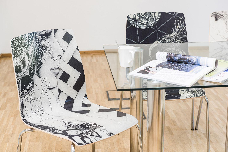Eitelkeit Büro Einrichtungsideen Sammlung Von Individuelle Kunst-stühle Für Den Besprechungsraum. #einrichtungsideen #büro