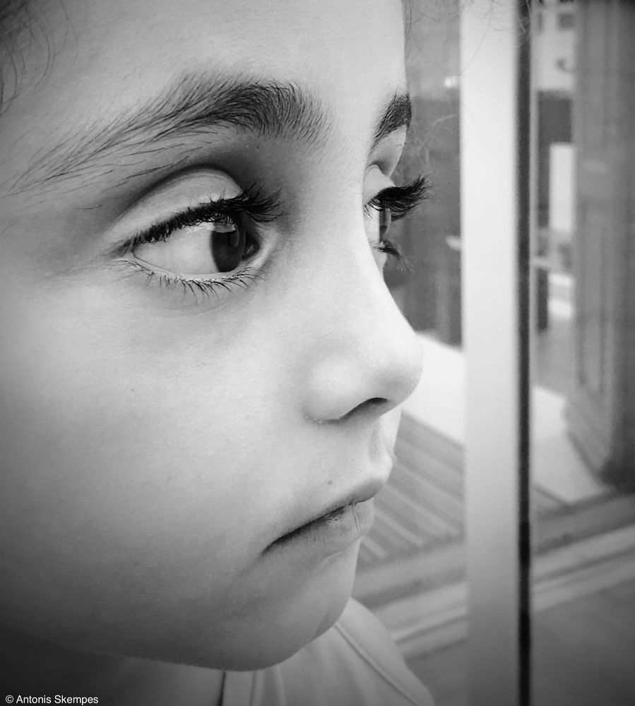 Emotions by antonis skempes youpic photography emotions eyes portrait bw bnw face child blackandwhite monochrome portraits emotion faces
