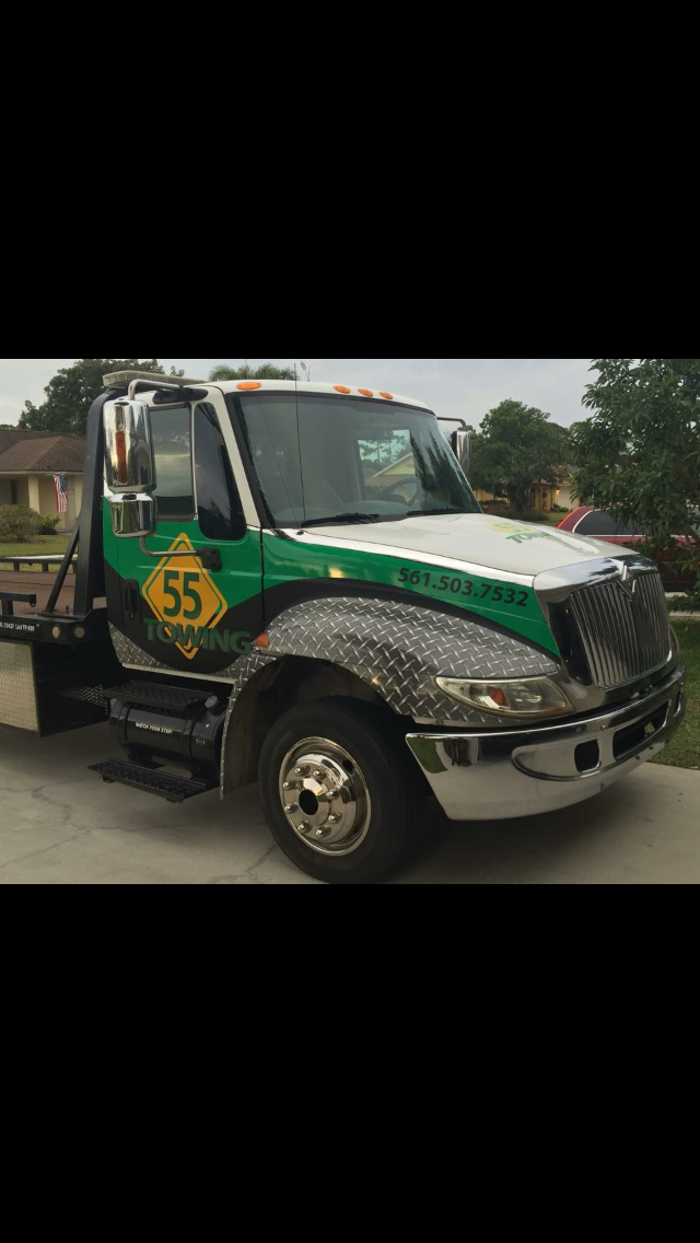 Custom Tow Truck Wrap Designed And Installed By Crd Wraps This