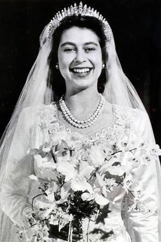 Princess Elizabeth wedding bouquet