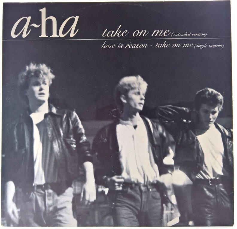 A Ha Take On Me Extended Version 30 Anos Trio