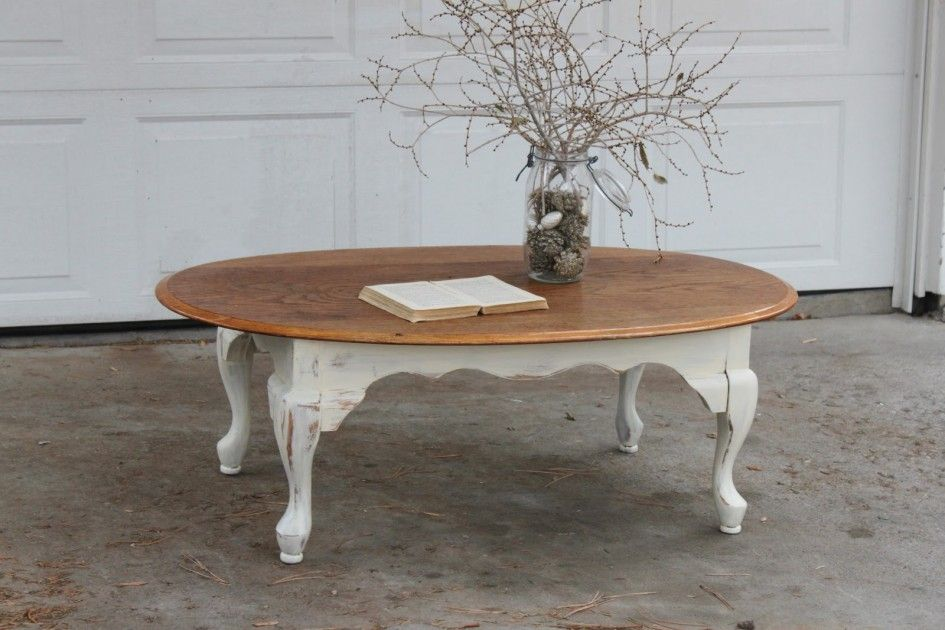 Engaging Round Brown White Wood Table Wooden Top Table Distinctive