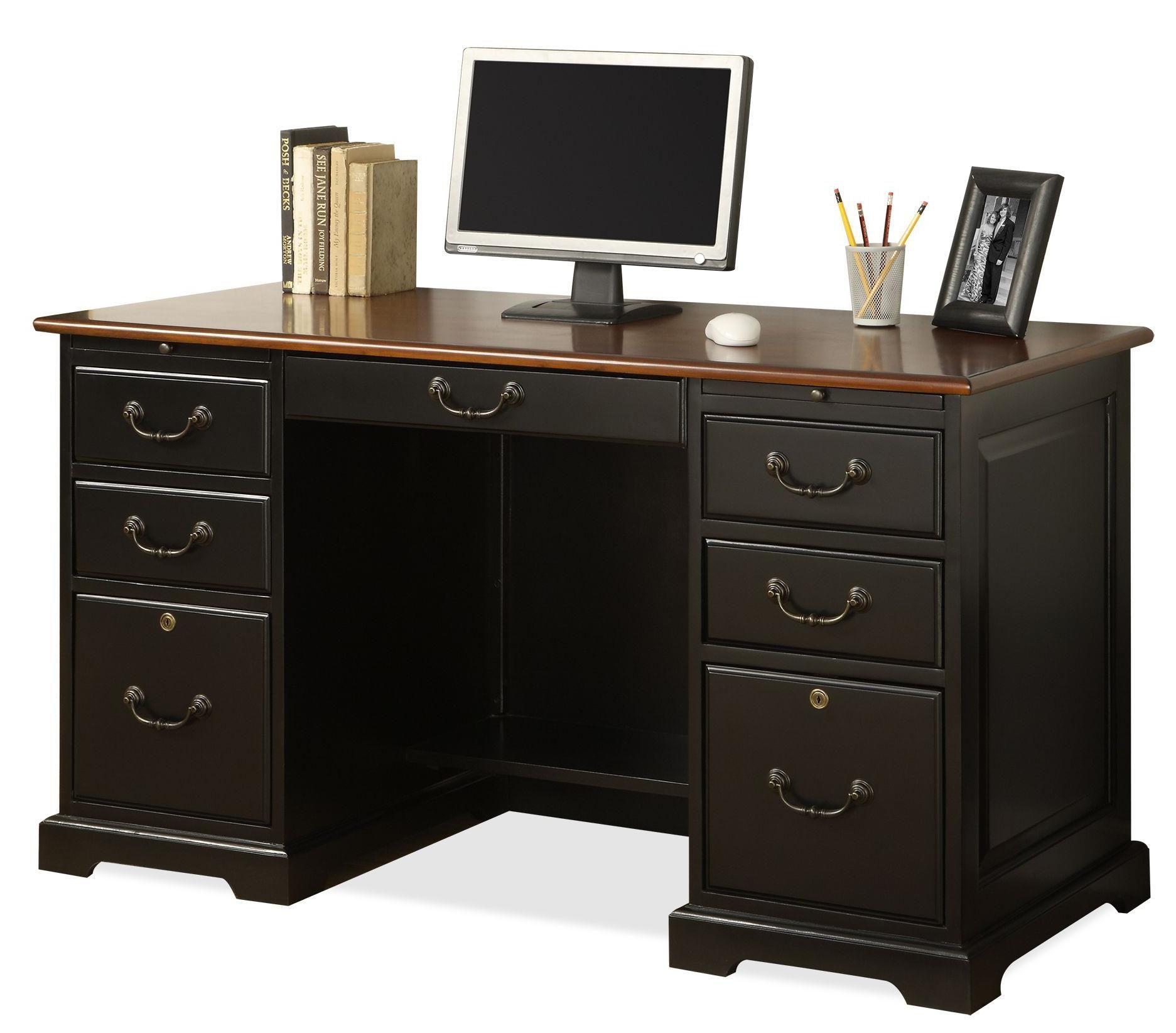 Bridgeport 54 Inch Desk By Riverside Furniture At